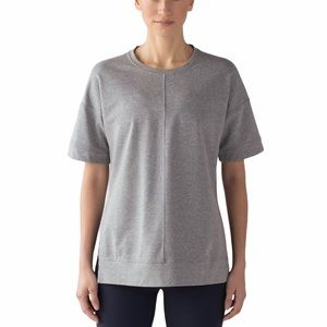 Lululemon Cut Above Grey Tee medium